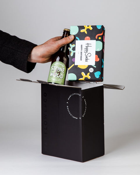 Happy Socks Birthday Gift Box + Beers