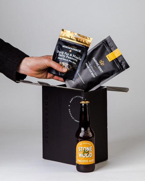Craft Beer + Jerky + Nuts