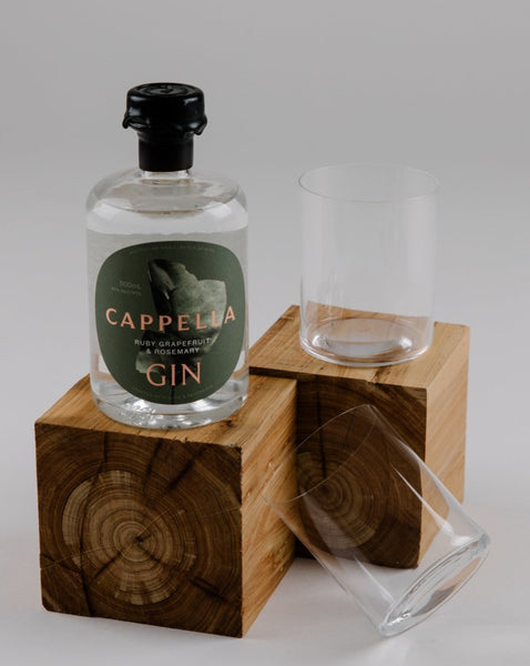 Small Batch Gin & Glasses Set