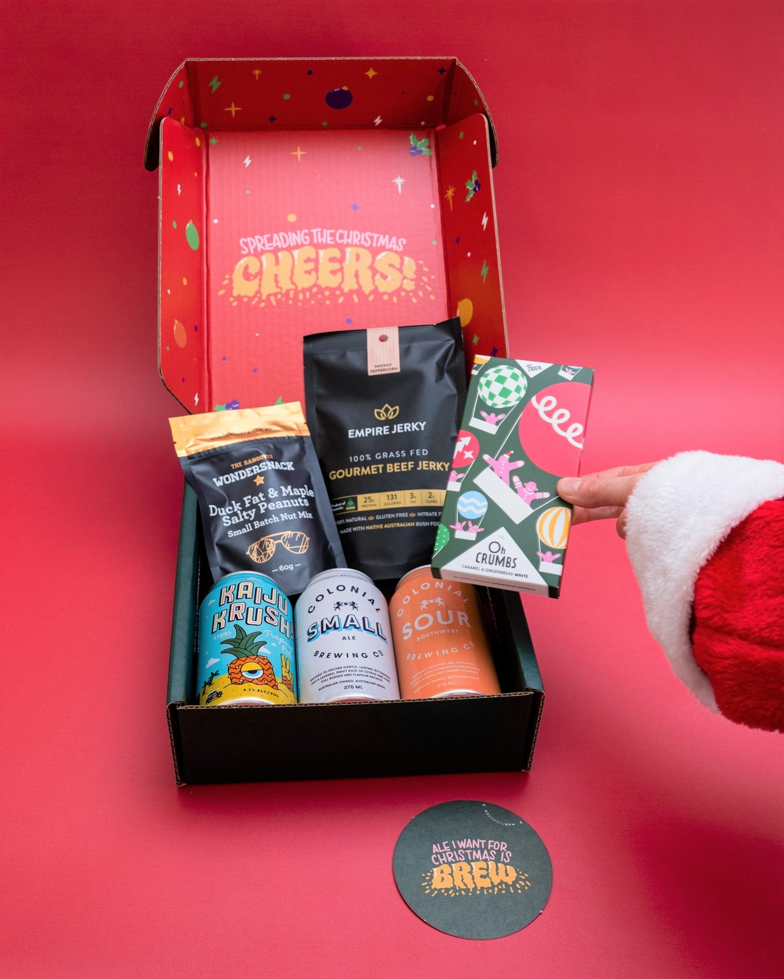 Send 'Xmas Cheer' Beer & Snack Bundle