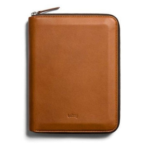 Bellroy A5 Work Folio - Caramel
