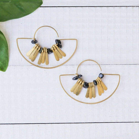 Arc Fringe Earrings