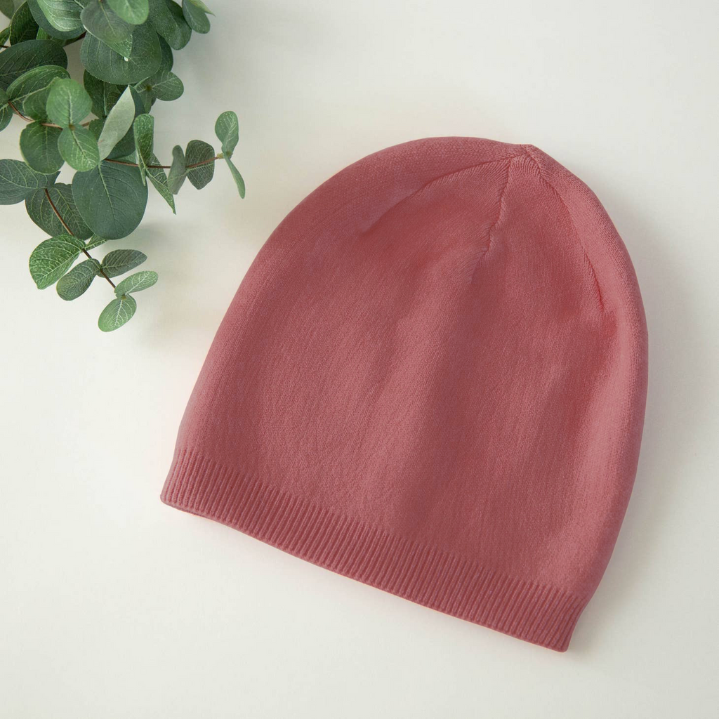 Winter Berry Cashmere Blend Beanie