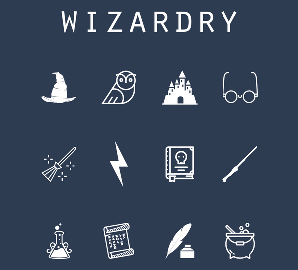 Wizardry (Harry Potter) - Beacon Collection – Twelve Faces