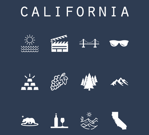 California Tshirts
