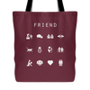 Friend Tote Bag - Beacon