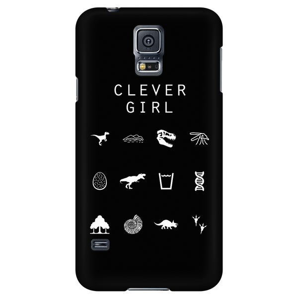 Clever Girl (Jurassic Park) Black Phone Case - Beacon