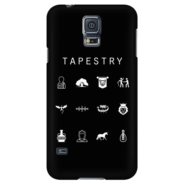 Tapestry Black Phone Case - Beacon