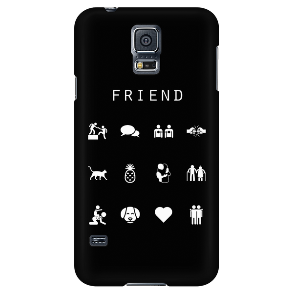 Friend Black Phone Case - Beacon