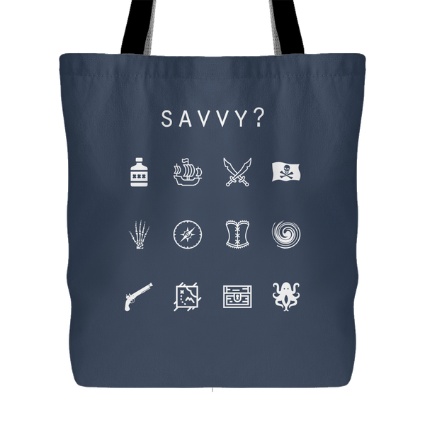Savvy? (Pirates of the Caribbean) Tote Bag - Beacon
