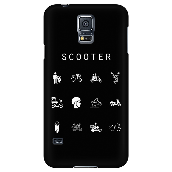 Scooter Black Phone Case - Beacon