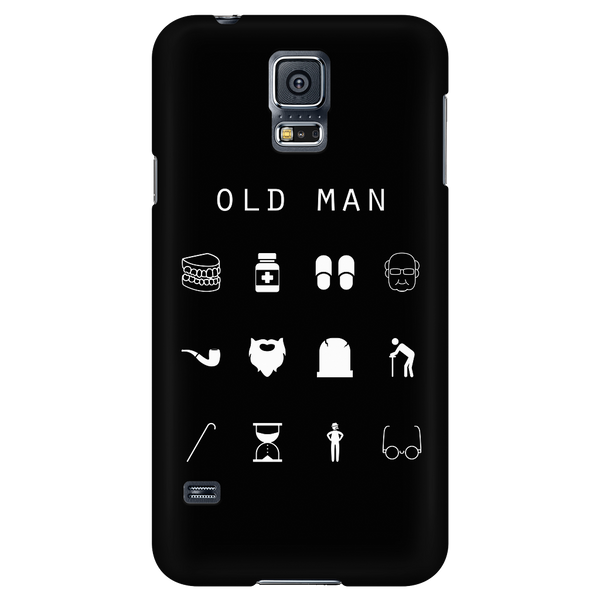 Old Man Black Phone Case - Beacon