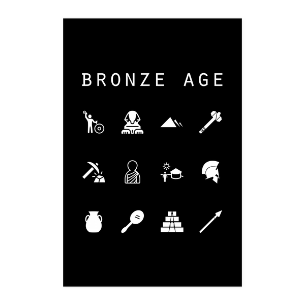 Bronze Age Black Poster - Beacon