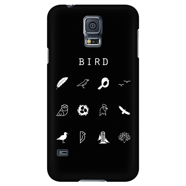Bird Black Phone Case - Beacon