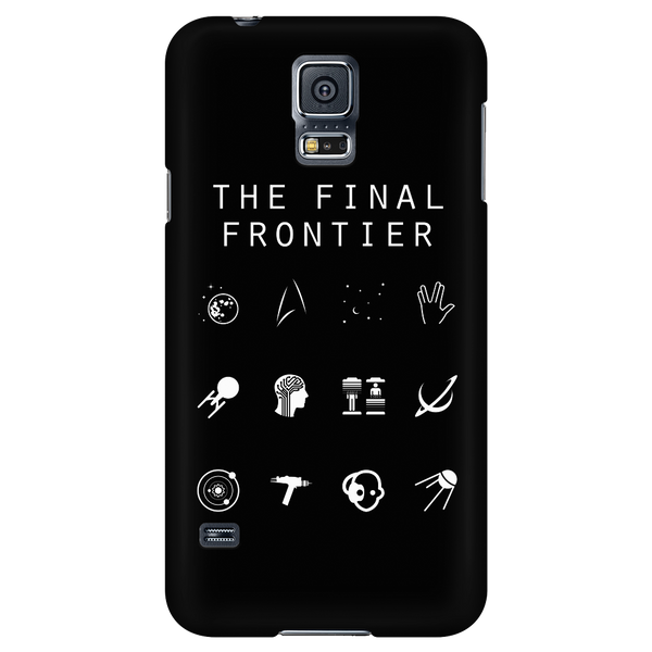 The Final Frontier (Star Trek) Black Phone Case - Beacon
