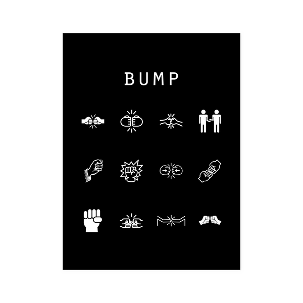 Bump Black Poster - Beacon