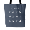 Spring Tote Bag - Beacon