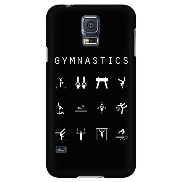 Gymnastics Black Phone Case - Beacon