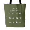 New Orleans Tote Bag - Beacon