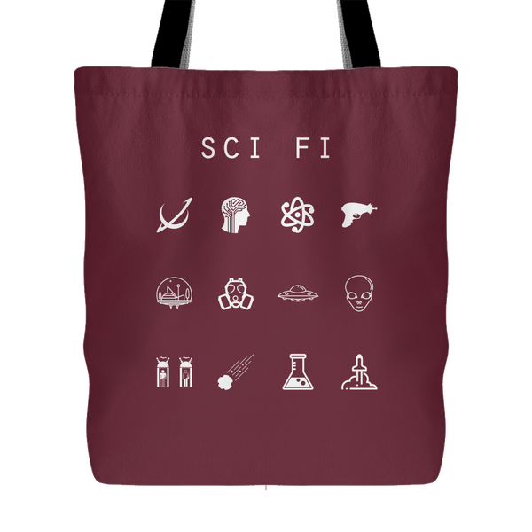 Sci-Fi Tote Bag - Beacon