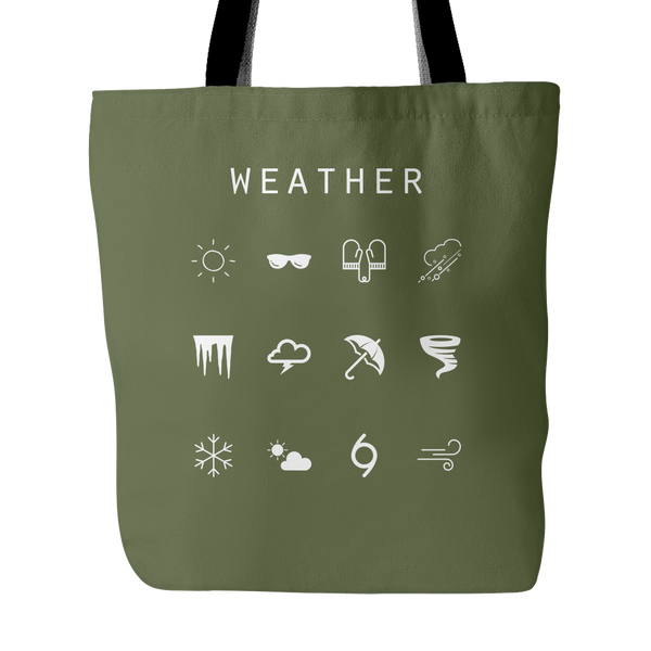 Weather Tote Bag - Beacon