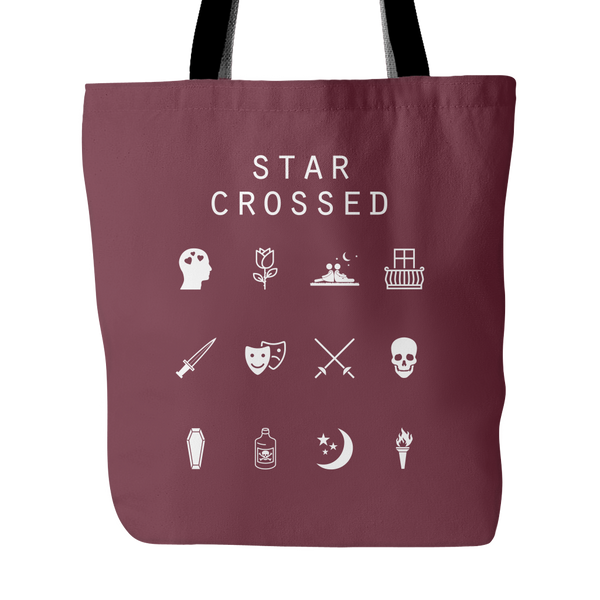 Star Crossed Tote Bag - Beacon