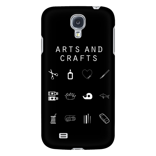 Arts and Crafts Black Phone Case - Beacon