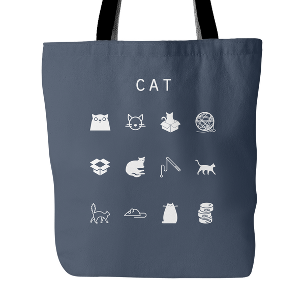 Cat Tote Bag - Beacon