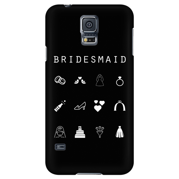 Bridesmaid Black Phone Case - Beacon