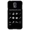 Barbarian Black Phone Case - Beacon