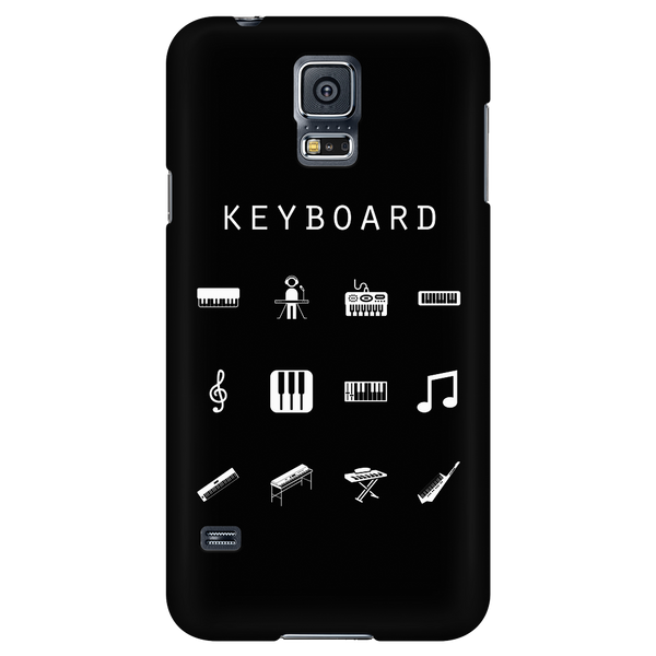 Keyboard Black Phone Case - Beacon