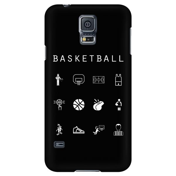 Basketball Black Phone Case - Beacon