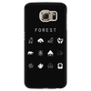 Forest (MTG) Black Phone Case - Beacon