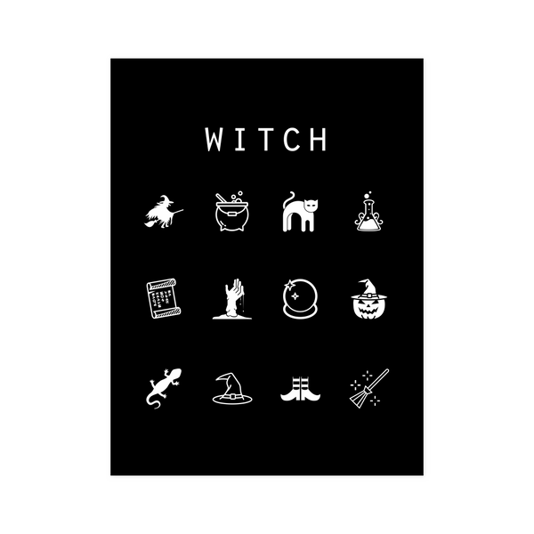 Witch Black Poster - Beacon