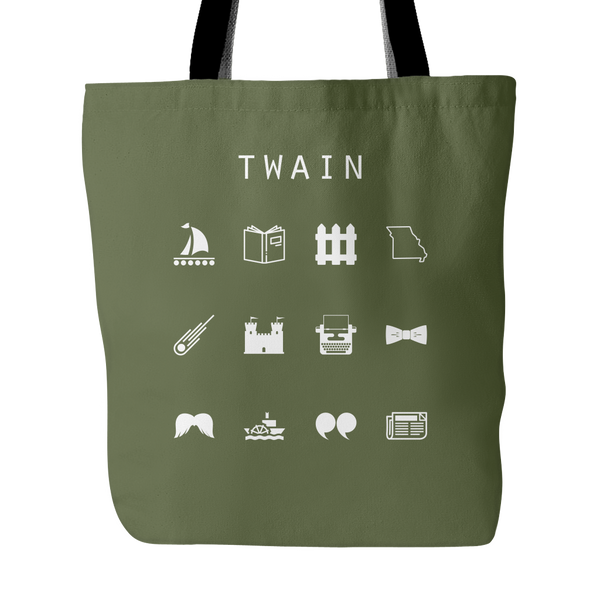 Twain Tote Bag - Beacon