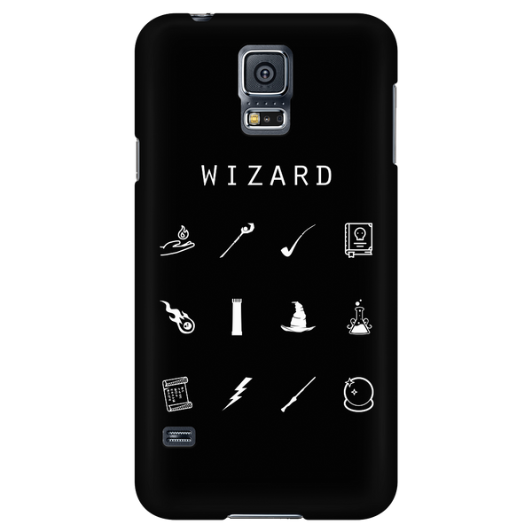 Wizard Black Phone Case - Beacon