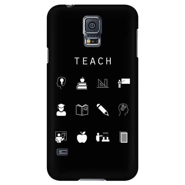Teach Black Phone Case - Beacon