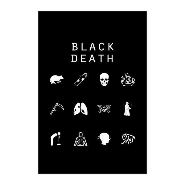 Black Death Black Poster - Beacon