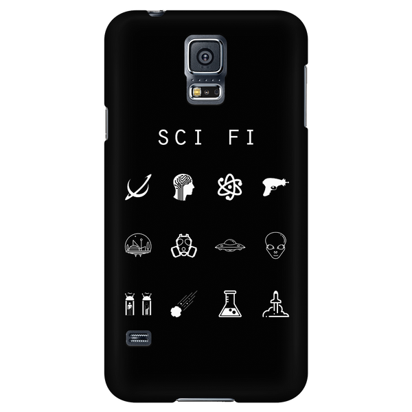 Sci Fi Black Phone Case - Beacon
