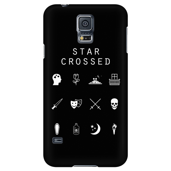 Star Crossed Black Phone Case - Beacon