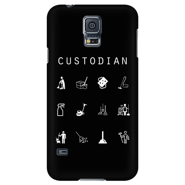 Custodian Black Phone Case - Beacon