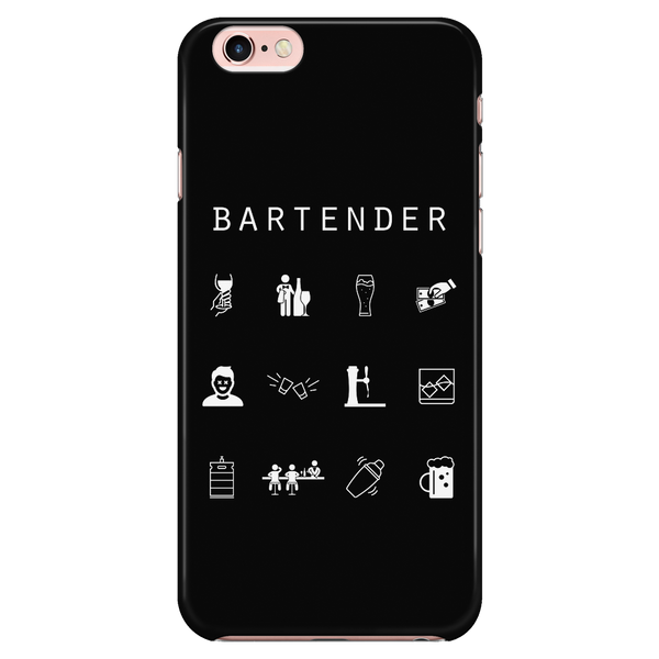 Bartender Black Phone Case - Beacon
