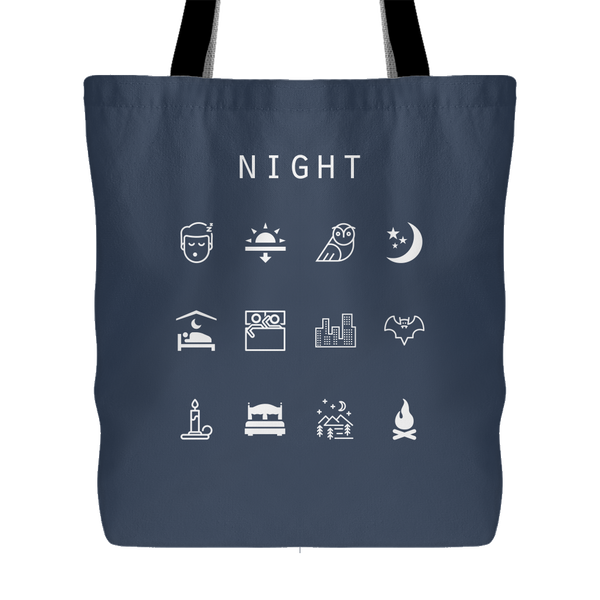 Night Tote Bag - Beacon