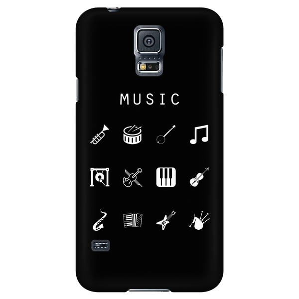 Music Black Phone Case - Beacon