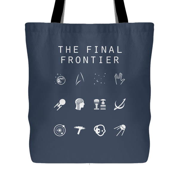 The Final Frontier (Star Trek) Tote Bag - Beacon