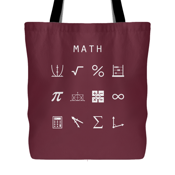 Math Tote Bag - Beacon