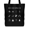 Bridesmaid Tote Bag - Beacon