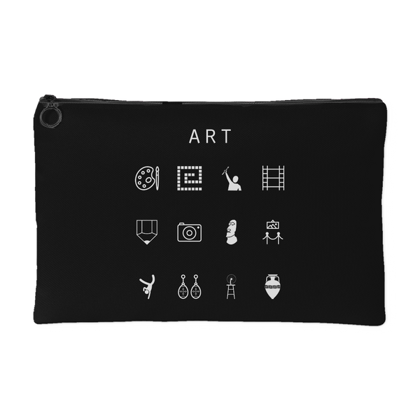 Art Black Accessory Pouch - Beacon