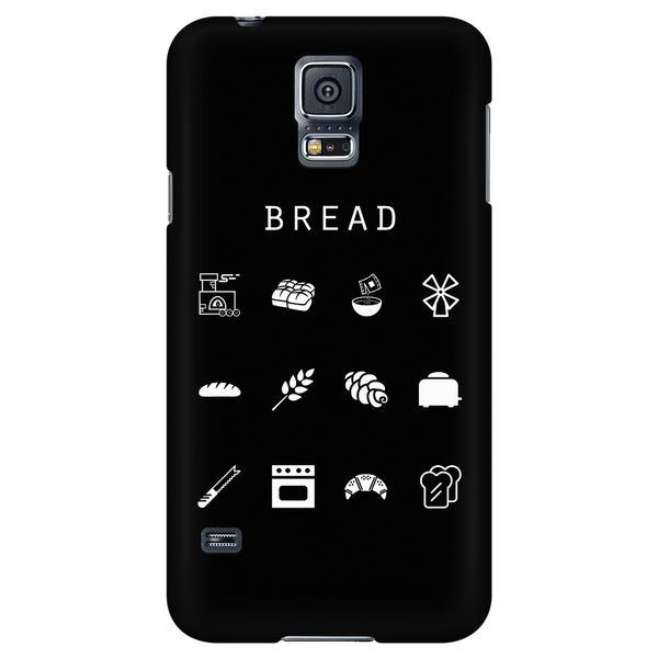 Bread Black Phone Case - Beacon