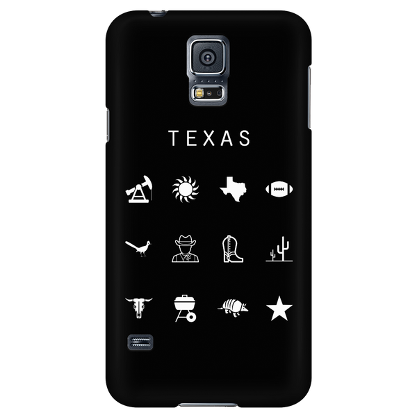 Texas Black Phone Case - Beacon